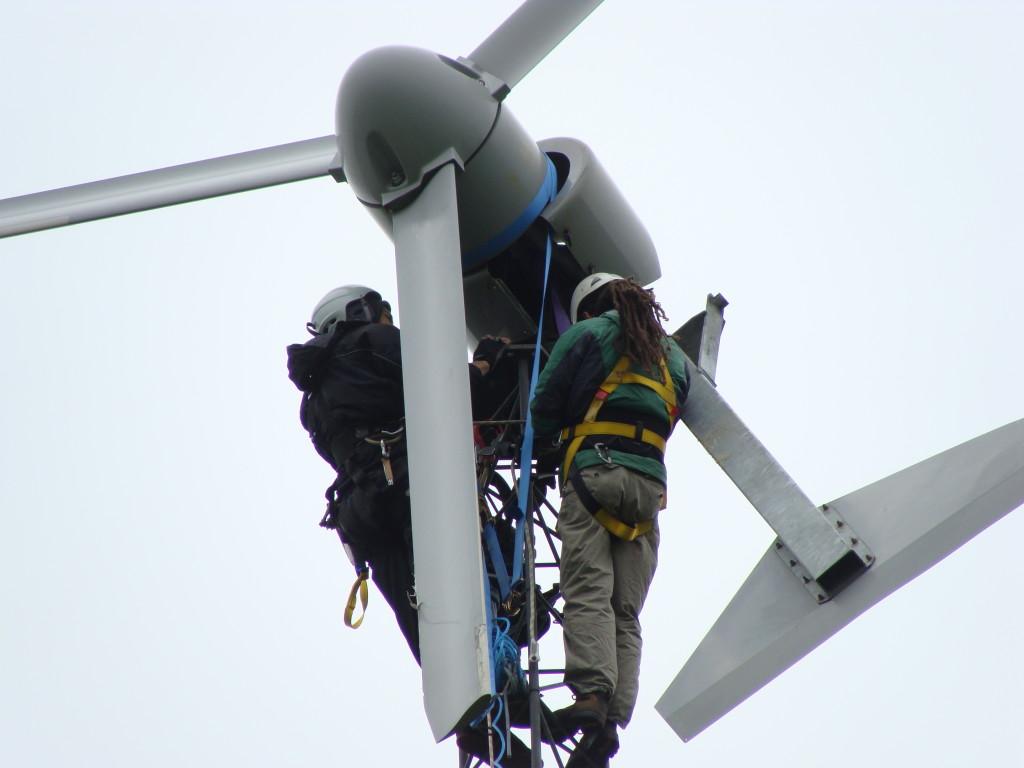 wind turbine servicing v3 power